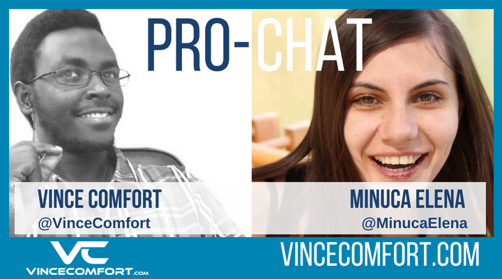 ProChat with Vince Comfort and Munica Elena