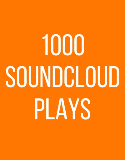 1000 SoundCloud Plays