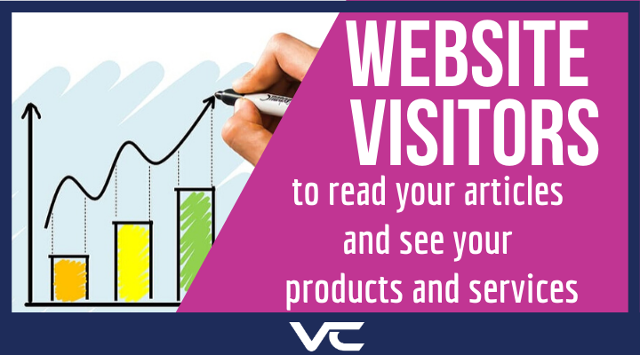 Wesite Visitors to articles