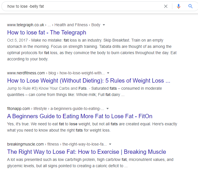 how to lose -belly fat