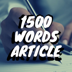 1500 Words Article