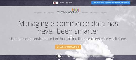clickworker.com micro jobs