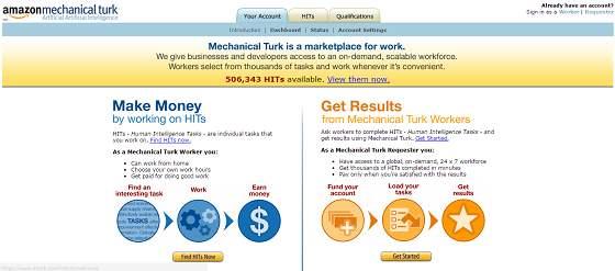 mturk.com micro jobs